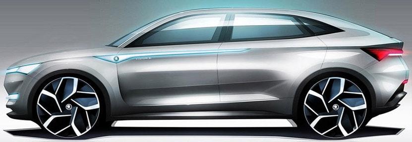 Електромобил Skoda Vision E - кола на бъдещето