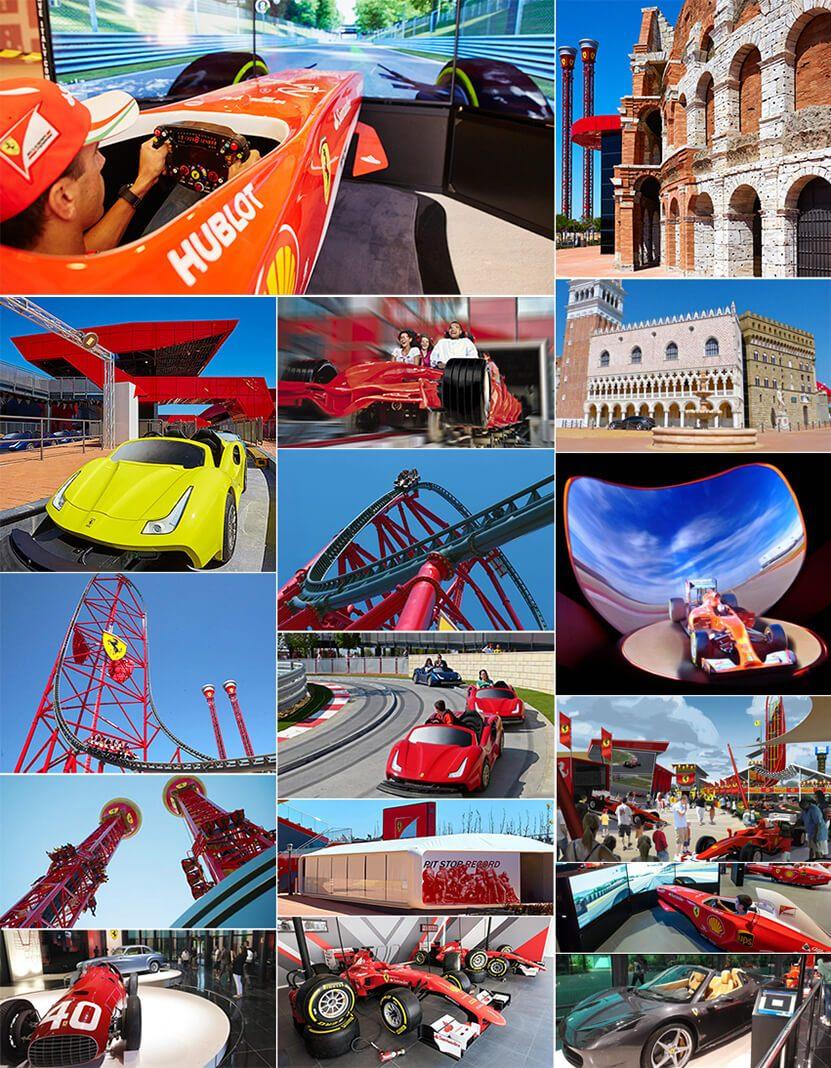Ferrari Land - адреналин и забавления с коли II