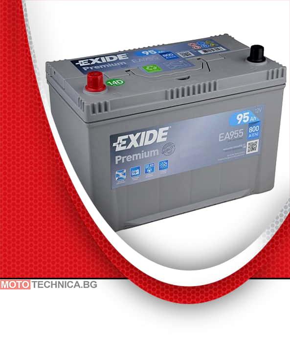 Акумулатор EXIDE PREMIUM 95AH 800A L+ JIS