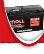 Акумулатор MOLL M3 PLUS K2 12V 100AH