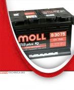Акумулатор MOLL M3 PLUS K2 12V 75AH