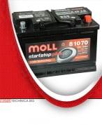 Акумулатор MOLL START STOP AGM 12V 70AH