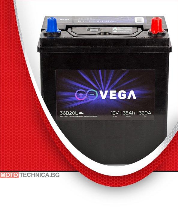 Акумулатор VeGa 35Ah Premium Calcium