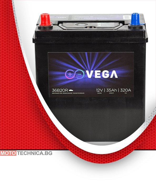 Акумулатор VeGa 35Ah Premium Calcium L