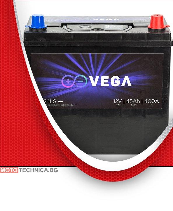 Акумулатор VeGa 45Ah Premium Calcium