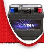 Акумулатор VeGa 45Ah Premium Calcium, японски стандарт