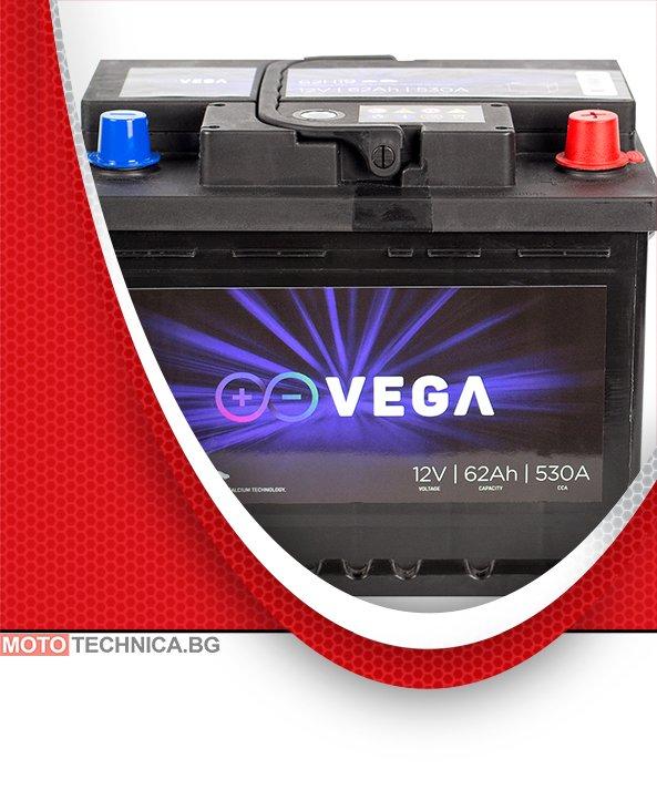 Акумулатор VeGa 62Ah Premium Calcium