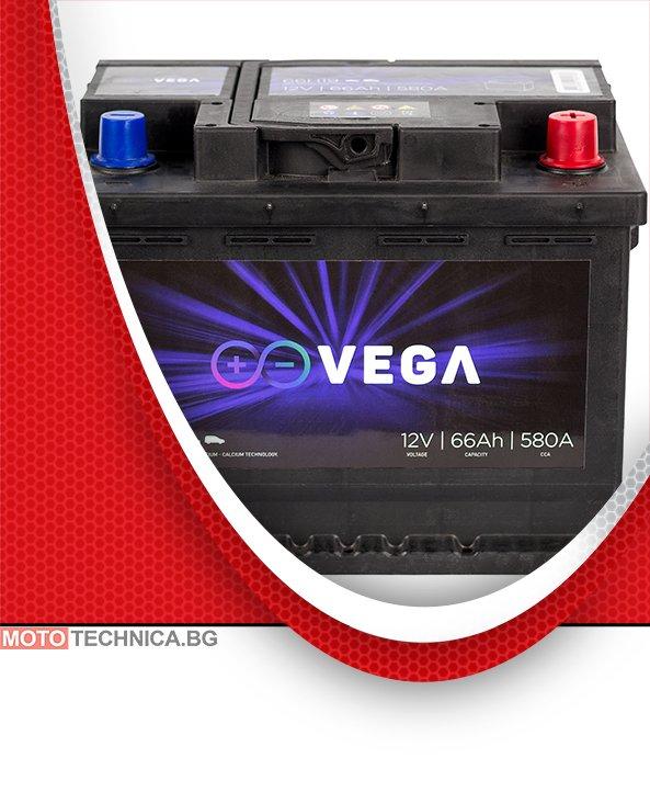 Акумулатор VeGa 66Ah Premium Calcium