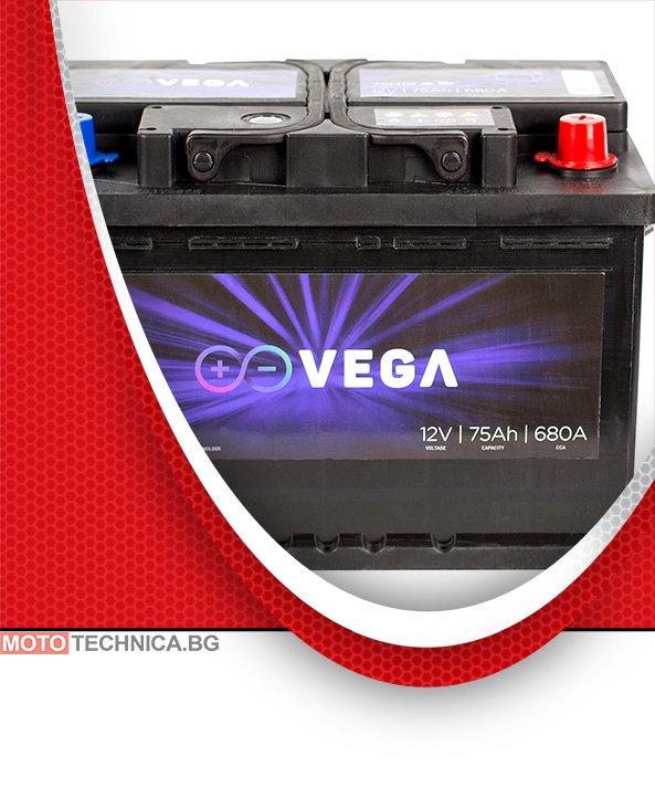 Акумулатор VeGa 75Ah Premium Calcium