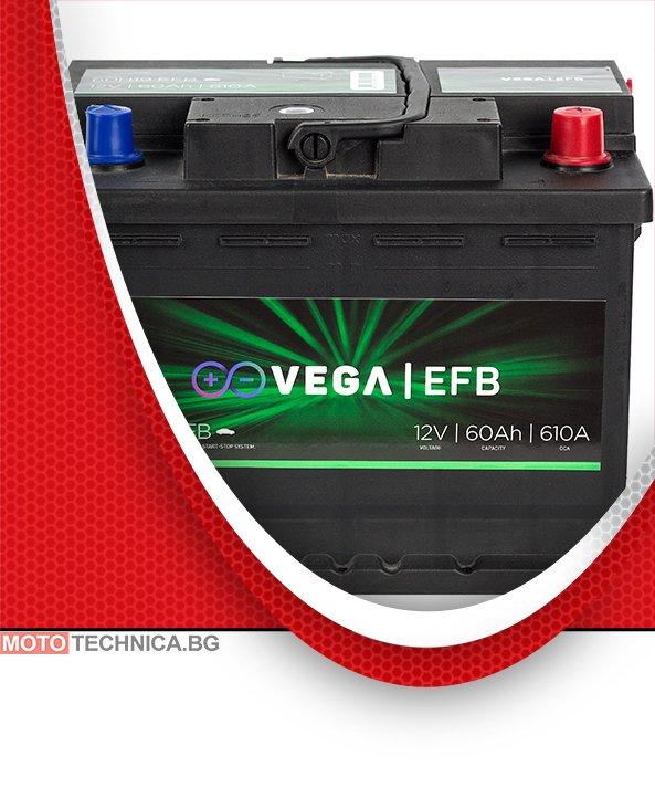 Акумулатор VeGa EFB 60Ah