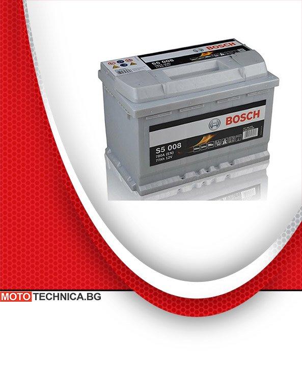 Акумулатори Bosch S5 Silver 77 Ah