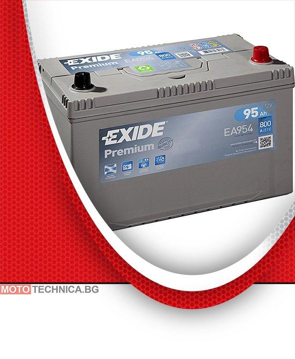 Акумулатори Exide Premium 95 Ah Asia R+