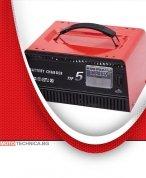 Зарядно за акумулатор 12V, 5A с метален корпус