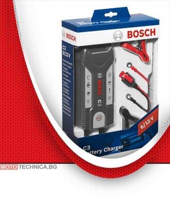 Зарядно за акумулатор BOSCH C3 6/12V 20Ah