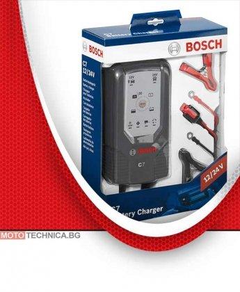 Зарядно за акумулатор BOSCH C7 12/24V