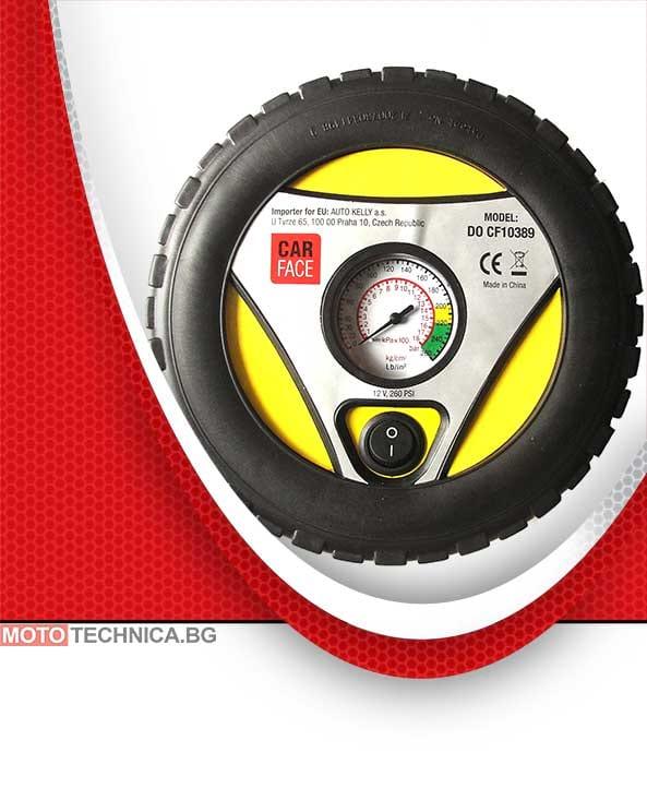 1fb68e2d159 Компресор за гуми 12V с дизайн на гума | Компресори за гуми ...