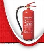 Прахов пожарогаситeл 6 kg P6F/ETS