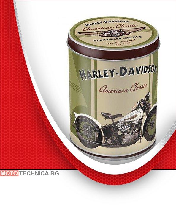 "Ретро кутия ""HARLEY DAVIDSON KNUCKLEHEAD"""