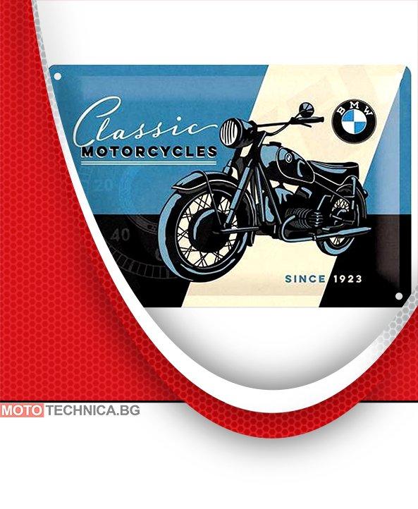 Ретро табела BMW Motorcycles