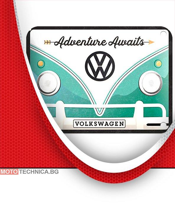 Ретро табела VW 15x20 cm