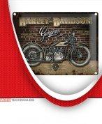 """Ретро табела XL HARLEY-DAVIDSON """"Стена"""" 30 х 40 см"""