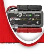 NOCO Genius Boost GB70, 2000A UltraSafe стартово устройство, бустер