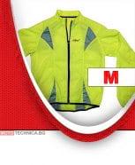 Светлоотразително яке жълто размер M