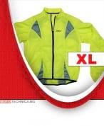 Светлоотразително яке жълто размер XL