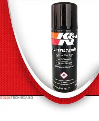 K&N 99-0506EU Air Filter Oil - 7.18 fl oz/204 ml Aerosol