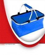 Чанта за багажник, кошница за пикник синя