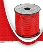 Кабел 1,5 mm, червен, 100m
