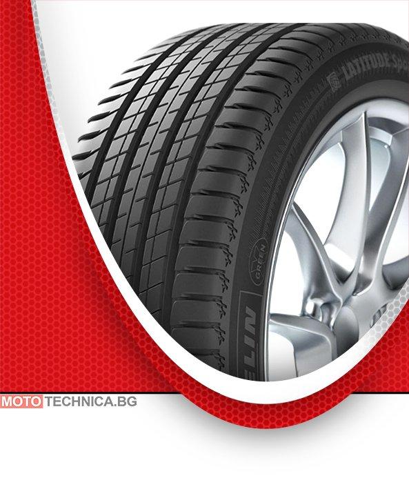 Летни гуми MICHELIN 255/45 R19 100V TL Latitude Sport 3 G RNX