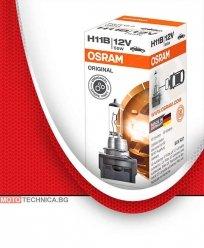 Крушки H11B 12V OSRAM фар за дълги светлини