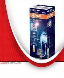 Крушки H3 OSRAM 12V 55W COOL BLUE INTENSE дълги светлини