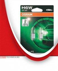 Крушки H6W 12V OSRAM мигачи