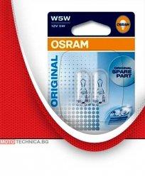 Крушки W5W OSRAM 12V