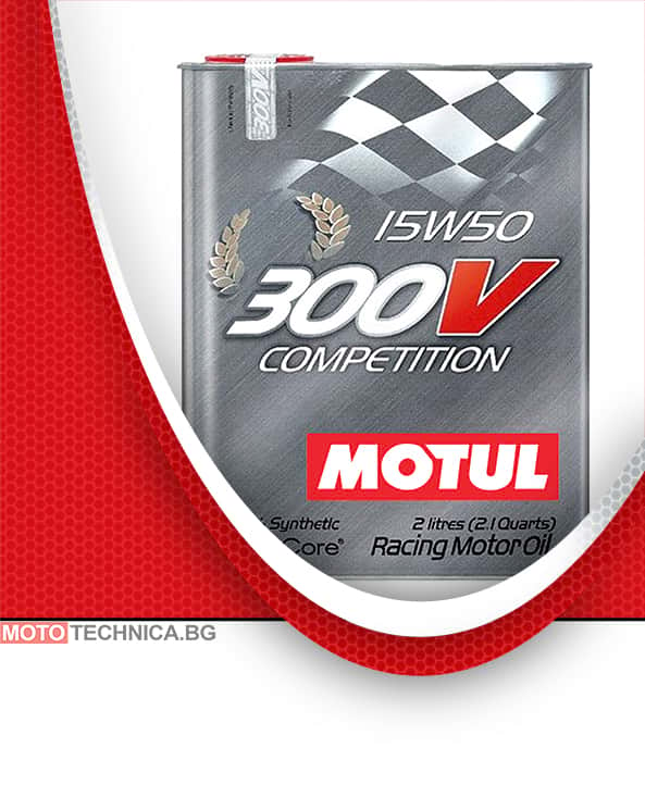 Масло MOTUL 300V COMPETITION 15W50 2L