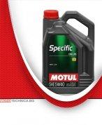 Масло MOTUL SPECIFIC CNG/LPG 5W40 5L