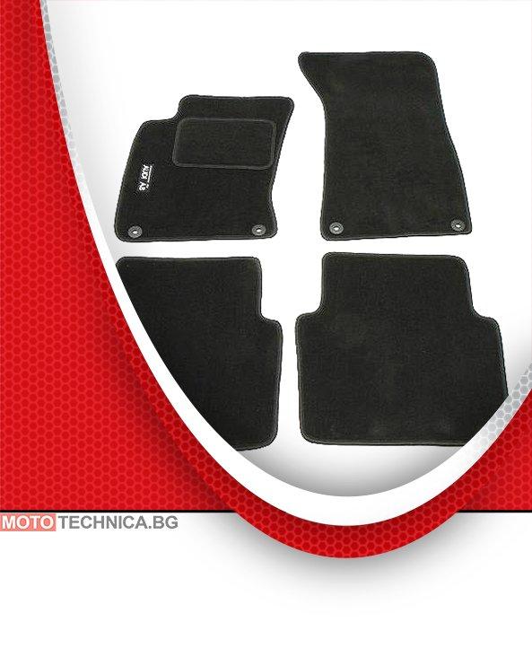 Стелки MAMMOOTH AUDI A8 2002-2010 4E, мокетни, черни