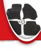 Стелки MAMMOOTH FORD MONDEO 2000-2007 B5Y, мокетни, черни