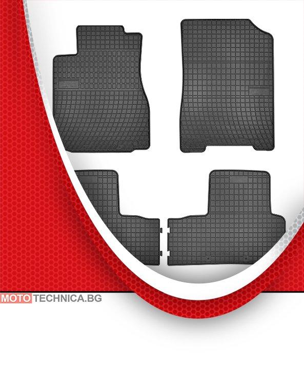 Стелки MAMMOOTH HONDA CR-V 2012 RM, гумени, черни