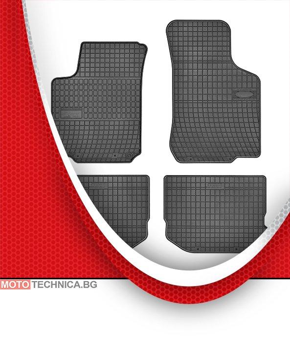 Стелки MAMMOOTH SEAT LEON 1999-2006 1M1, гумени, черни