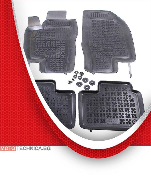 Стелки REZAW PLAST Alfa Romeo 156 1997-2005 932, гумени, черни