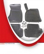 Стелки REZAW PLAST AUDI A4 2007-2015 B8, гумени, черни