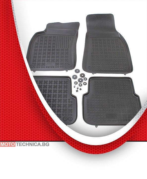 Стелки REZAW PLAST AUDI A6 2005-2011 C6, гумени, черни