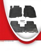 Стелки REZAW PLAST CHEVROLET CAPTIVA 2006+ C100, гумени, черни