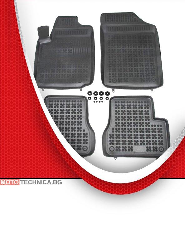 Стелки REZAW PLAST CITROEN C3 2002+ FC, гумени, черни