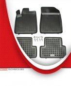 Стелки REZAW PLAST CITROEN C5 2004+ RC, гумени, черни