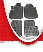 Стелки REZAW PLAST FIAT 500 2007+ 312, гумени, черни