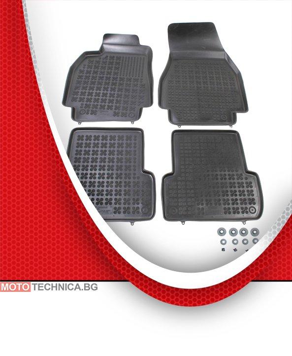 Стелки REZAW PLAST RENAULT MEGANE 2002-2011 BM0/1, гумени, черни